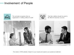 Involvement Of People Communication Ppt Powerpoint Presentation Visual Aids Background Images