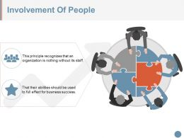 Involvement Of People Ppt Design