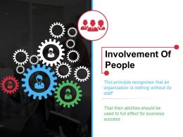 Involvement Of People Ppt Outline Brochure