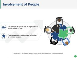 Involvement Of People Ppt Slides