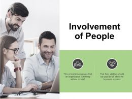 Involvement Of People Target Ppt Powerpoint Presentation Icon Show