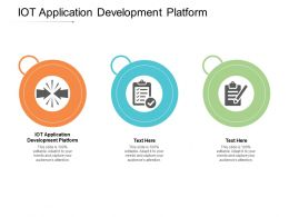 IOT Application Development Platform Ppt Powerpoint Presentation Icon Deck Cpb