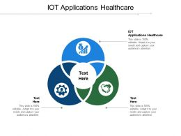 IOT Applications Healthcare Ppt Powerpoint Presentation Gallery Ideas Cpb