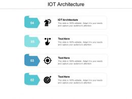 IOT Architecture Ppt Powerpoint Presentation Professional Ideas Cpb