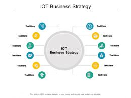 IOT Business Strategy Ppt Powerpoint Presentation Infographic Template Layouts Cpb