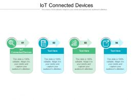 IoT Connected Devices Ppt Powerpoint Presentation Gallery Graphics Template Cpb