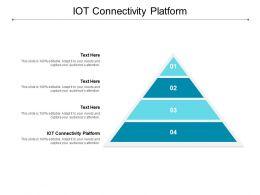 IOT Connectivity Platform Ppt Powerpoint Presentation Outline Microsoft Cpb