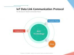 IoT Data Link Communication Protocol Internet Of Things IOT Overview Ppt Powerpoint Presentation Gallery