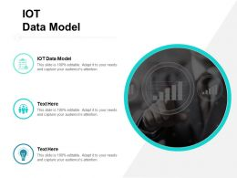 IOT Data Model Ppt Powerpoint Presentation Inspiration Slide Cpb