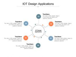 IOT Design Applications Ppt Powerpoint Presentation Layouts Icon Cpb
