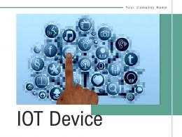 IOT Device Connection Smartphone Controlling Application