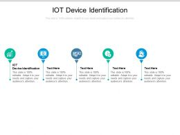 IOT Device Identification Ppt Powerpoint Presentation Model Show Cpb