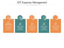 IOT Expense Management Ppt Powerpoint Presentation Infographics Graphic Tips Cpb