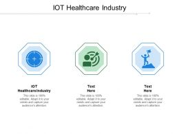 IOT Healthcare Industry Ppt Powerpoint Presentation Ideas Inspiration Cpb