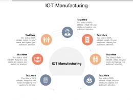 IOT Manufacturing Ppt Powerpoint Presentation File Icon Cpb