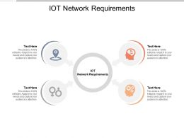 IOT Network Requirements Ppt Powerpoint Presentation Summary Inspiration Cpb