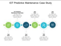IOT Predictive Maintenance Case Study Ppt Powerpoint Presentation Portfolio Design Inspiration Cpb
