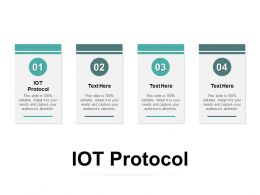 IOT Protocol Ppt Powerpoint Presentation Infographic Template Objects Cpb