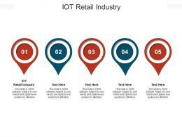 IOT Retail Industry Ppt Powerpoint Presentation Portfolio Tips Cpb