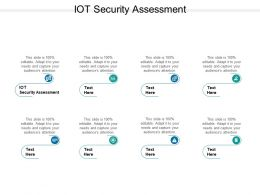 IOT Security Assessment Ppt Powerpoint Presentation Show Information Cpb