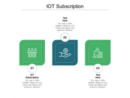 IOT Subscription Ppt Powerpoint Presentation Infographics Layouts Cpb