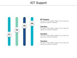 IOT Support Ppt Powerpoint Presentation Infographics Professional Cpb
