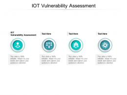 Iot Vulnerability Assessment Ppt Powerpoint Objects Cpb