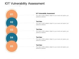 IOT Vulnerability Assessment Ppt Powerpoint Presentation Ideas Deck Cpb