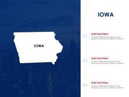 Iowa Powerpoint Presentation PPT Template