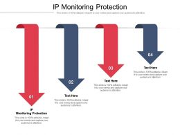 IP Monitoring Protection Ppt Powerpoint Presentation Portfolio Background Designs Cpb