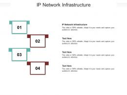 IP Network Infrastructure Ppt Powerpoint Presentation Example Cpb