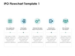 IPO Flowchart Process Ppt Powerpoint Presentation File Slide