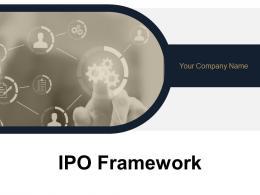 Ipo Framework Powerpoint Presentation Slides