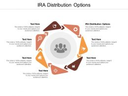 IRA Distribution Options Ppt Powerpoint Presentation Portfolio Examples Cpb
