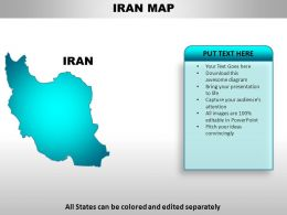 Iran Country PowerPoint Maps