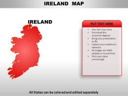 Ireland Country PowerPoint Maps