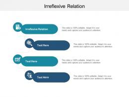 Irreflexive Relation Ppt Powerpoint Presentation Portfolio Visual Aids Cpb
