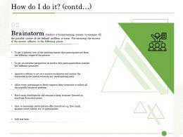 Ishikawa Analysis How Do I Do It Contd Wrong Identification Ppt Presentation Background