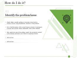 Ishikawa Analysis How Do I Do It Problem Issues Ppt Powerpoint Presentation Background Image