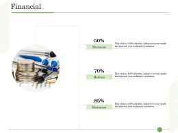 Ishikawa Analysis Organizational Financial Minimum Maximum Medium Perecntages Ppt Tips
