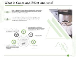 Ishikawa Analysis Organizational What Is Cause And Effect Analysis Multiple Causes Ppts Ideas