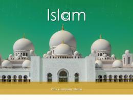 Islam Individual Inscriptions Gathered Lluminated Designs