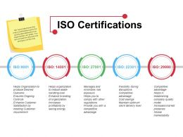 Iso Certifications Ppt File Graphics