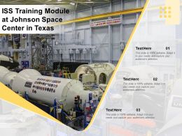 ISS Training Module At Johnson Space Center In Texas