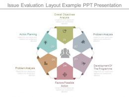 Issue Evaluation Layout Example Ppt Presentation