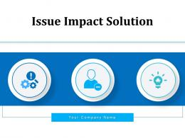 Issue Impact Solution Marketing Business Network Security Internal Expansion