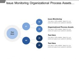 Issue Monitoring Organizational Process Assets Planning Meetings Analysis