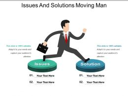 Issues And Solutions Moving Man