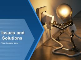 Issues And Solutions Powerpoint Presentation Slides