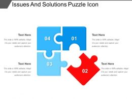 Issues And Solutions Puzzle Icon